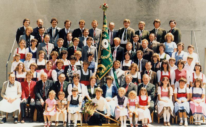 Hubertusschützen 1980